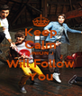 Keep Calm UNION J Will Follow You - Personalised Poster A4 size