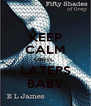 KEEP CALM UNITL  LATERS BABY - Personalised Poster A4 size