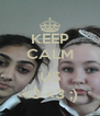 KEEP CALM  US <3 <3 ;) - Personalised Poster A4 size
