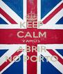 KEEP CALM VAMOS ABRIR NO PORTO - Personalised Poster A4 size