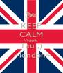 KEEP CALM Viktorija Tau ;) `~london~ - Personalised Poster A4 size