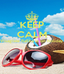 KEEP CALM Visagiste Rafika is on holiday   - Personalised Poster A4 size