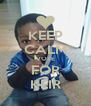 KEEP CALM VOTE FOR KEIR - Personalised Poster A4 size