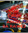 KEEP CALM W ARGEL 3A RAWE2 - Personalised Poster A4 size