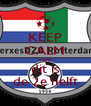 KEEP CALM want dit is de 2e helft - Personalised Poster A4 size