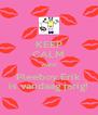 KEEP CALM want Pleeboy Erik is vandaag jarig! - Personalised Poster A4 size