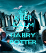 KEEP CALM WATCH HARRY POTTER - Personalised Poster A4 size