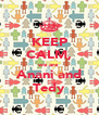 KEEP CALM, we are Anani and Tedy - Personalised Poster A4 size