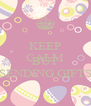 KEEP CALM WE BUSY BUT SENDING GIFTS - Personalised Poster A4 size