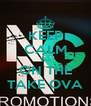 KEEP CALM WE ON THE TAKE OVA - Personalised Poster A4 size