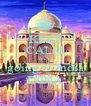 KEEP CALM We're going to India INDIA - Personalised Poster A4 size