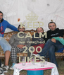 KEEP CALM we reached 200 LIKES - Personalised Poster A4 size