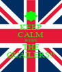 KEEP CALM WER'E THE QUAILERS!! - Personalised Poster A4 size