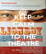KEEP CALM WE'RE GOING TO THE THEATRE - Personalised Poster A4 size