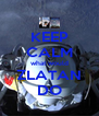 KEEP CALM what would ZLATAN DO - Personalised Poster A4 size