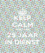 KEEP CALM WIETSKE 25 JAAR IN DIENST - Personalised Poster A4 size
