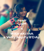keeP CalM & WIsh niKiThA a VeRy hApPy B'DAy - Personalised Poster A4 size