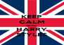 KEEP CALM WITH  HARRY STYLES - Personalised Poster A4 size