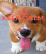 KEEP CALM  WOOF !   - Personalised Poster A4 size