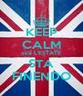 KEEP CALM xkè L'ESTATE STA FINENDO - Personalised Poster A4 size