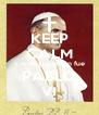 KEEP CALM y averigua quién fue PABLO VI - Personalised Poster A4 size