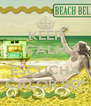 KEEP CALM Y ESCUCHA CALOR 90º - Personalised Poster A4 size