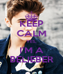 KEEP CALM YES, I'M A BELIEBER - Personalised Poster A4 size