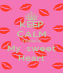 KEEP CALM Yinhle is My  sweet Heart - Personalised Poster A4 size