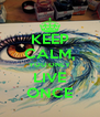 KEEP CALM, YOU ONLY LIVE ONCE - Personalised Poster A4 size