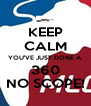 KEEP CALM YOU'VE JUST DONE A 360 NO SCOPE! - Personalised Poster A4 size