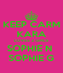 KEEP CARM KARA LOVES 2 GIRLS SOPHIE N  SOPHIE G - Personalised Poster A4 size
