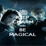KEEP CHARM AND BE MAGICAL - Personalised Poster A4 size