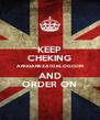 KEEP CHEKING ANGGANEZA10.BLOG.COM AND ORDER ON - Personalised Poster A4 size