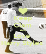 Keep Clam And Love  Harry Styles  - Personalised Poster A4 size