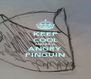 KEEP COOL AND BE A ANGRY PINGUIN - Personalised Poster A4 size