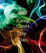 Keep Cool And Be Qais - Personalised Poster A4 size