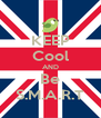 KEEP Cool AND Be S.M.A.R.T - Personalised Poster A4 size