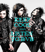 KEEP COOL AND LISTEN  TO BVB - Personalised Poster A4 size