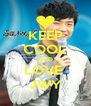 KEEP COOL AND LOVE  JWY - Personalised Poster A4 size