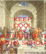 KEEP COOL AND TAKE PART IN THE ЛЯТНА SCHOLA - Personalised Poster A4 size