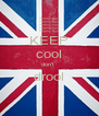 KEEP cool don't  drool  - Personalised Poster A4 size