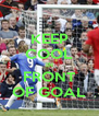 KEEP COOL IN FRONT OF GOAL - Personalised Poster A4 size