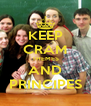 KEEP CRAM THEMES AND PRINCIPES - Personalised Poster A4 size