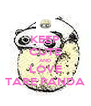 KEEP CUTE AND LOVE TARE PANDA - Personalised Poster A4 size