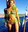 KEEP  DISTANCE I'M ITALOPHILE  - Personalised Poster A4 size