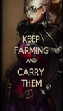 KEEP FARMING AND CARRY THEM - Personalised Poster A4 size