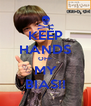KEEP HANDS OFF MY BIAS!! - Personalised Poster A4 size