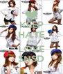 KEEP HATE AND LOVE SNSD - Personalised Poster A4 size