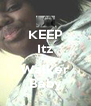 KEEP Itz Tierra Walker Baby - Personalised Poster A4 size