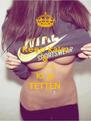Keep kalm & Tooooog Ki je TETTEN - Personalised Poster A4 size